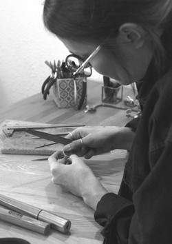 Bijoux créateur en argent fabriqué dans mon atelier du sud de la France, à Saint Raphaël