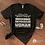 Thumbnail: Indigenous Empowered Woman - Unisex T-shirt - BLACK