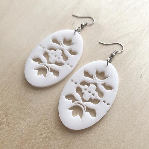 Spring Floral - White Matte