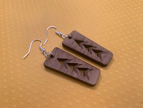 Short Wooden Arrow Drops