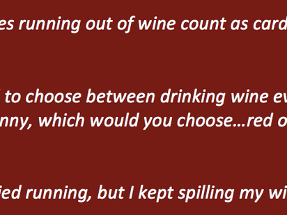 Staying slim: a wine-lover's experiment