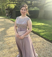Taupe Prom Dress A Line