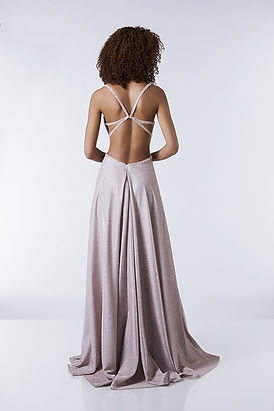 open back prom dress pink straps