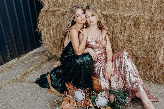 sparkly green and rose gold prom dresses sequins
