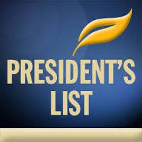 President's List Sponsorship