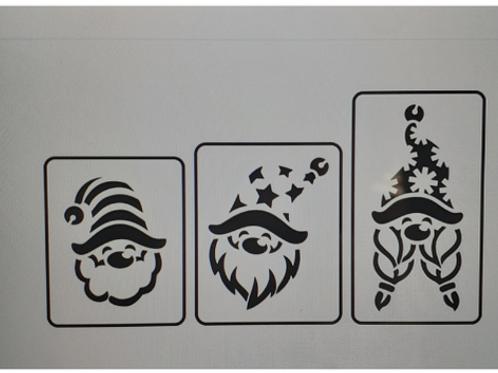 Set of 3 Christmas Gnomes