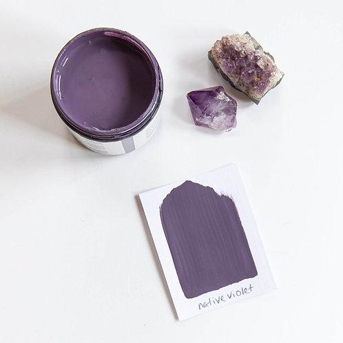 Native Violet Mineral Paint