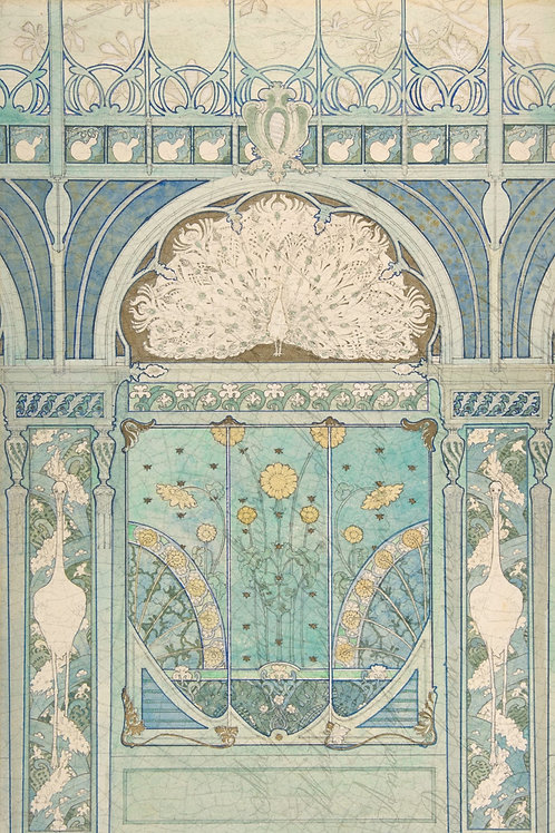 Roycycled Treasures Art Deco Peacock Designs