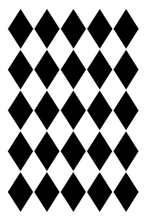 Posh Harlequin  21 x 30 cm