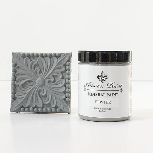 Pewter Mineral Paint