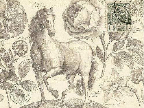 Roycycled Treasures Botanical Equine