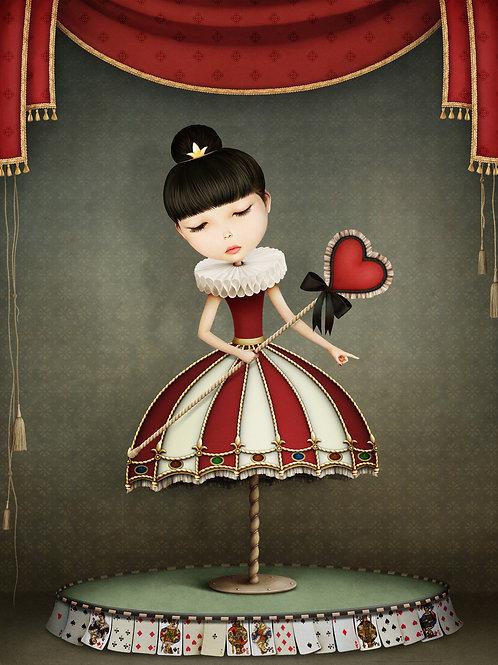 Mint Fairy Queen Decoupage