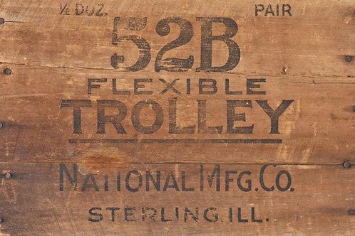 Roycycled Treasures Woodcrate Trolley
