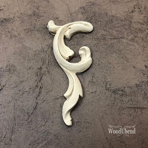 Right Scroll 11 x 5 cm  WUB 0368