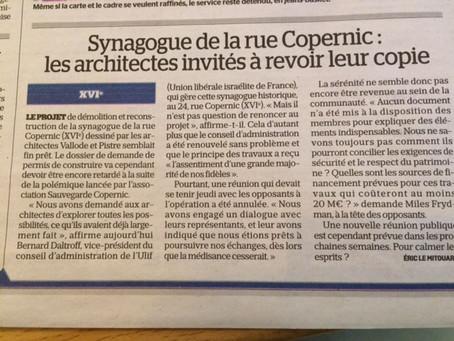 Copernic: les architectes invités à revoir leur copie