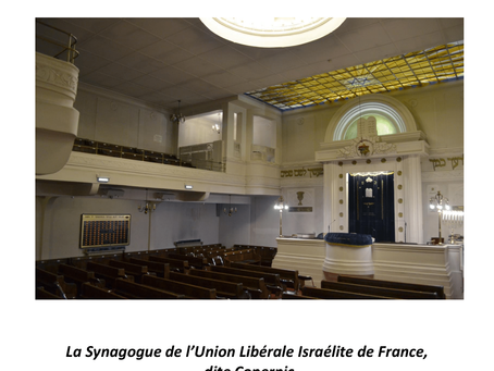 La synagogue de la rue Copernic, grande expertise