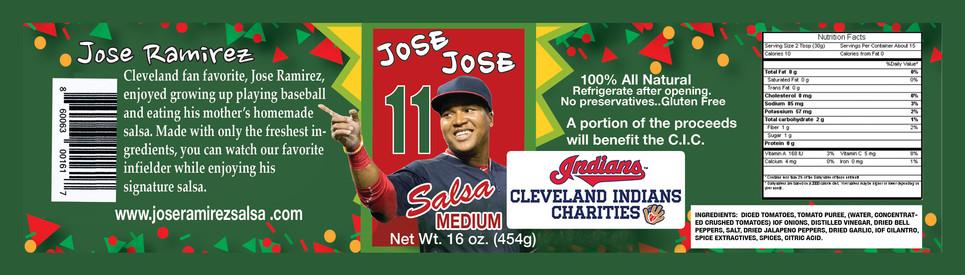Jose Ramirez Jose Jose Salsa Medium