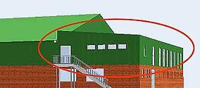 Neubau Gymnastik- und Mehrzweckhalle