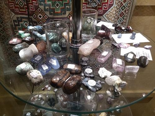 Semi-Precious Crystals (E-P)