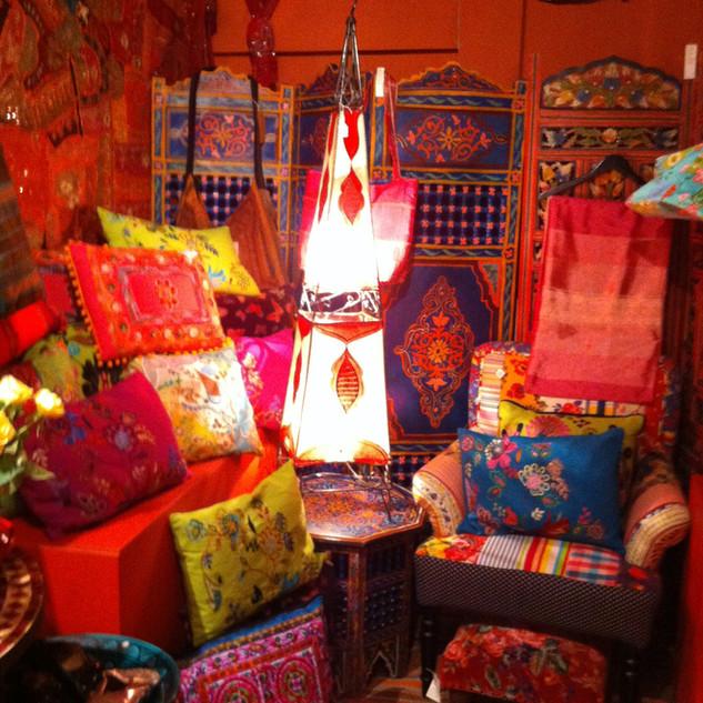 Moroccan room