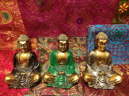 Small Hand-Painted Buddha