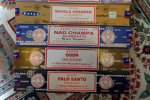 Satya Incense Sticks (M - Z)
