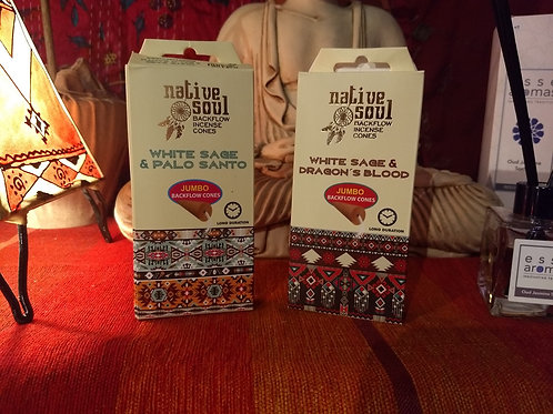 Native Soul - Backflow Incense Cones