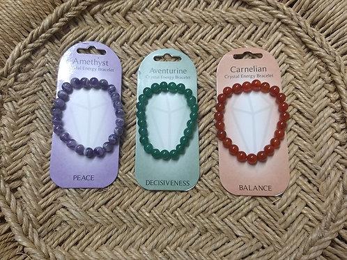 Crystal bead bracelets