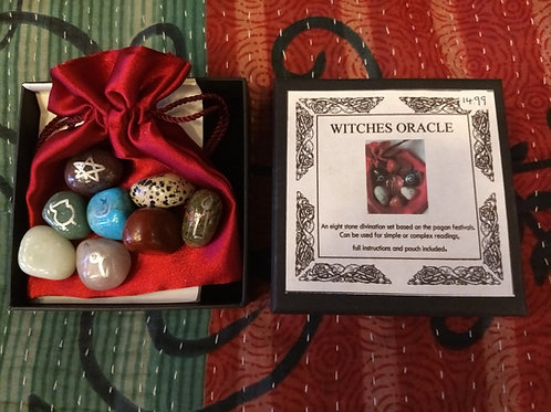 Witches Oracle - Stone Set