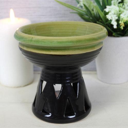 Ceramic Oil Burner - Deep Dish