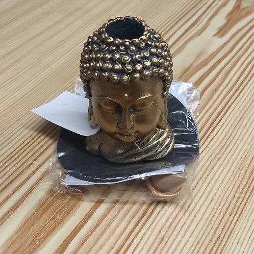 Buddha Head - Backflow Incense Burner