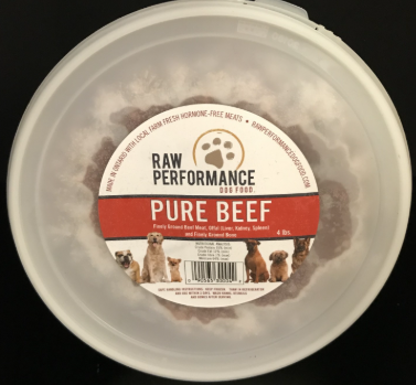 Pure Beef 4lb Tubs