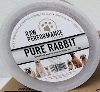 Pure Rabbit 2lb Tubs