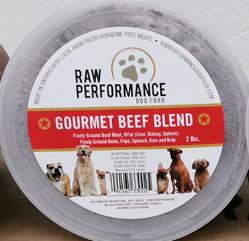 Gourmet Beef 1lb Tubs