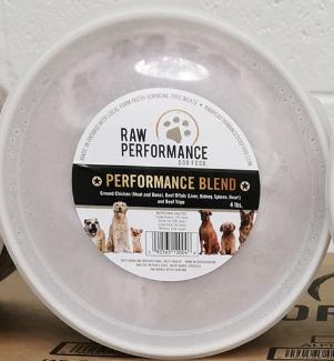 Performance Blend 1lb tubs