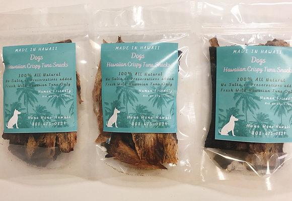 【3袋お徳用】ハワイアン クリスピー ツナスナック (Dogs)