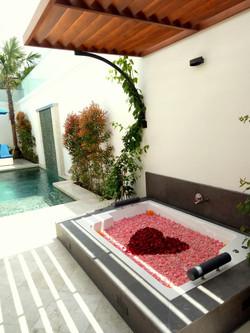 Honeymoon Setup on Spa