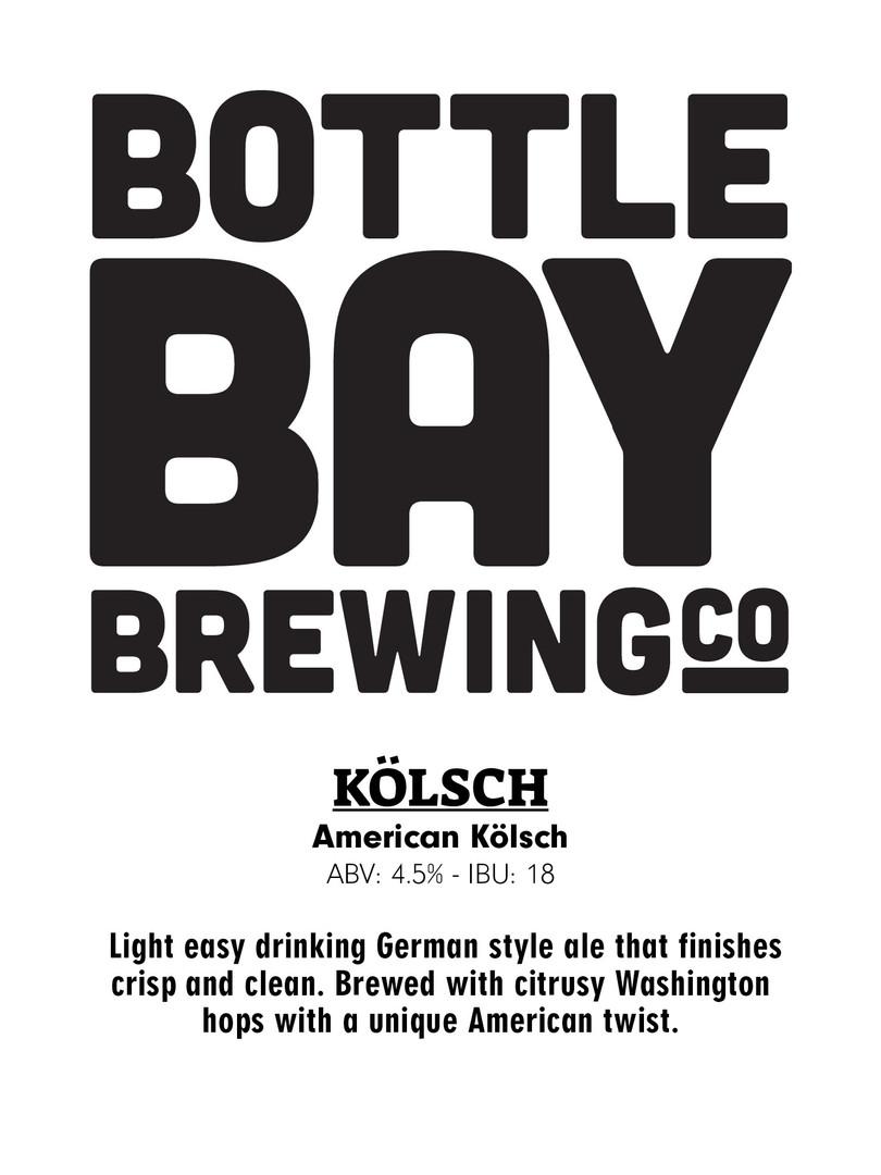 Bottle Bay Brewing Co - Kolsch
