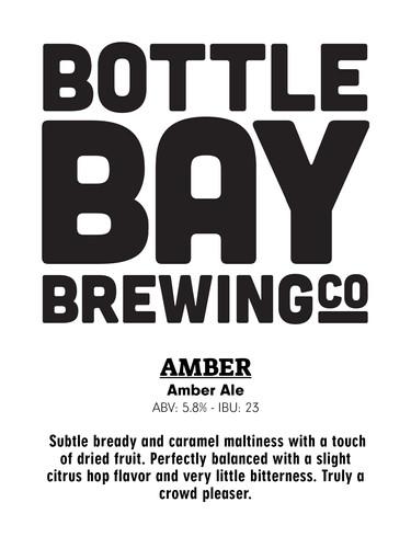 Bottle Bay Brewing Co - Amber Aler