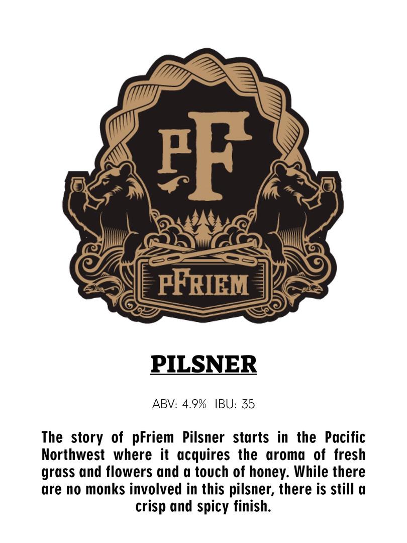 Pfriem Family Brewing - Pilsner