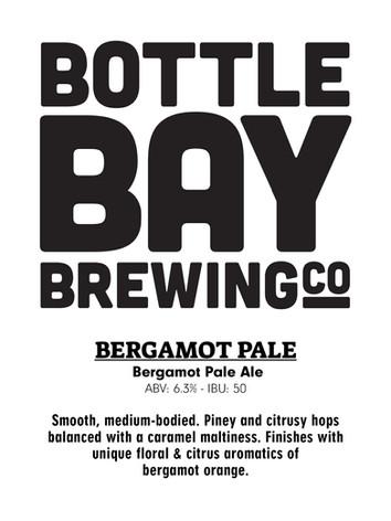 Bottle Bay Brewing Co. - Bergamot Pale