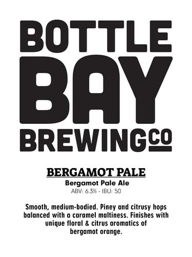 Bottle Bay Brewing Co - Bergamot Pale