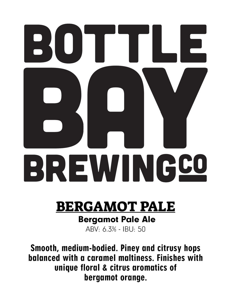 Bottle bay Brewing Co - Bergamot Pale Ale