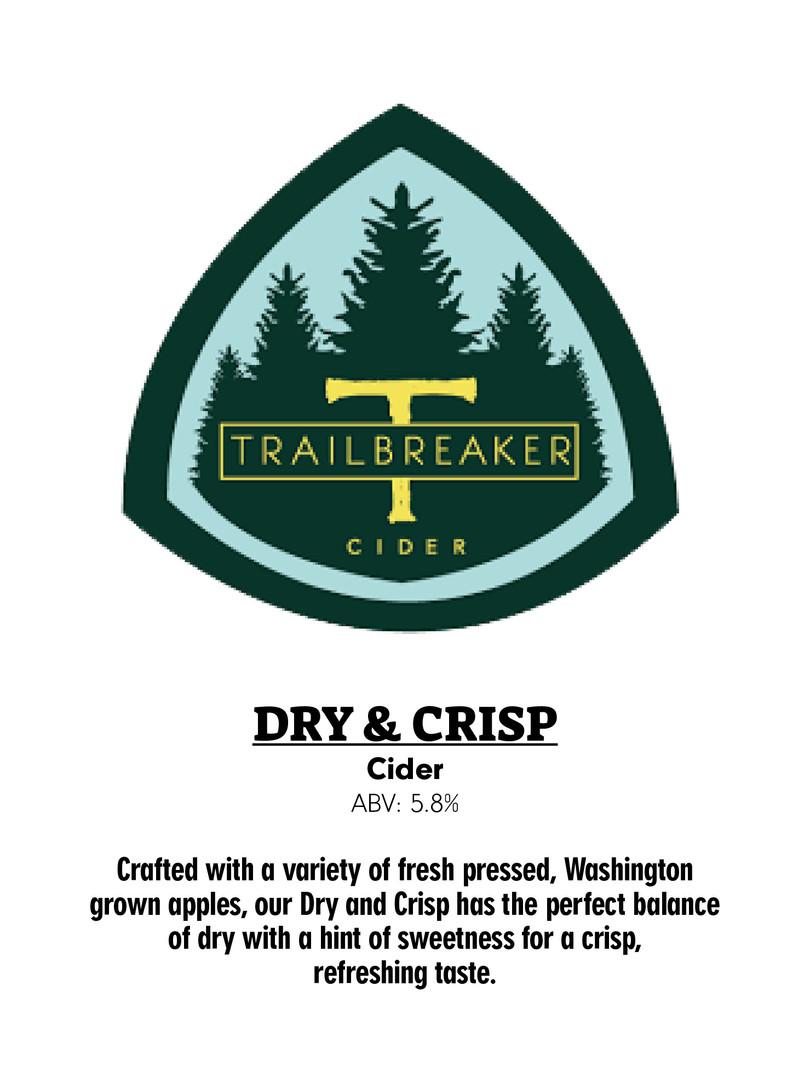 Trailbreaker Cider - Dry & Crisp