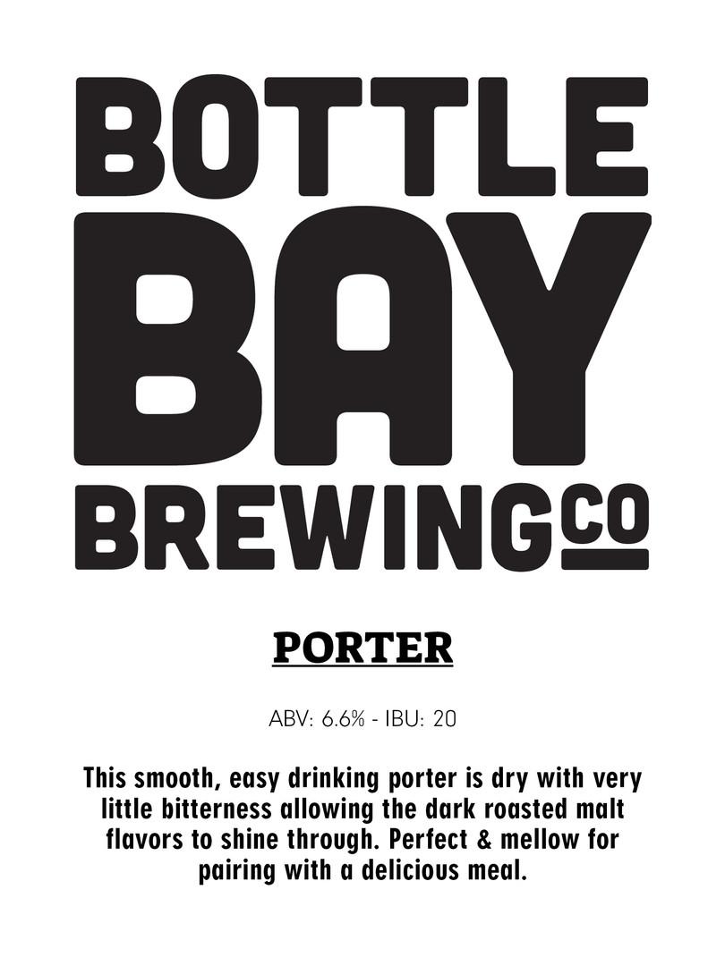 Bottle Bay Brewing Co - Porter