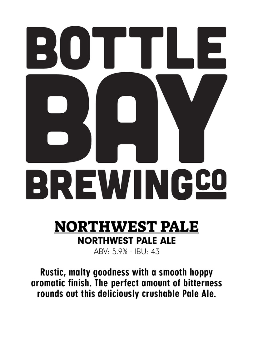 Bottle Bay Brewing Co - NW Pale