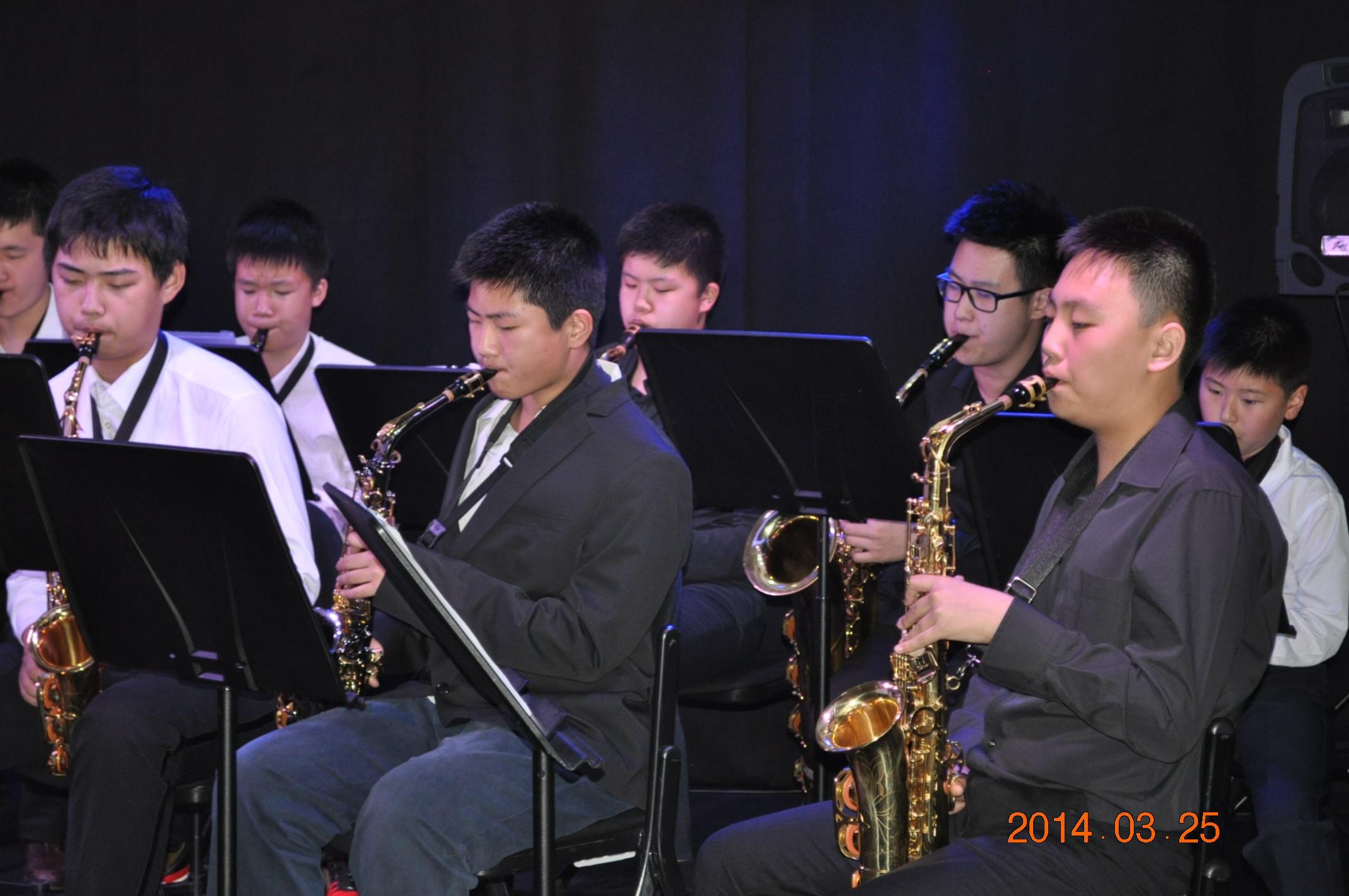 尚音学生赴法国参加音乐演奏