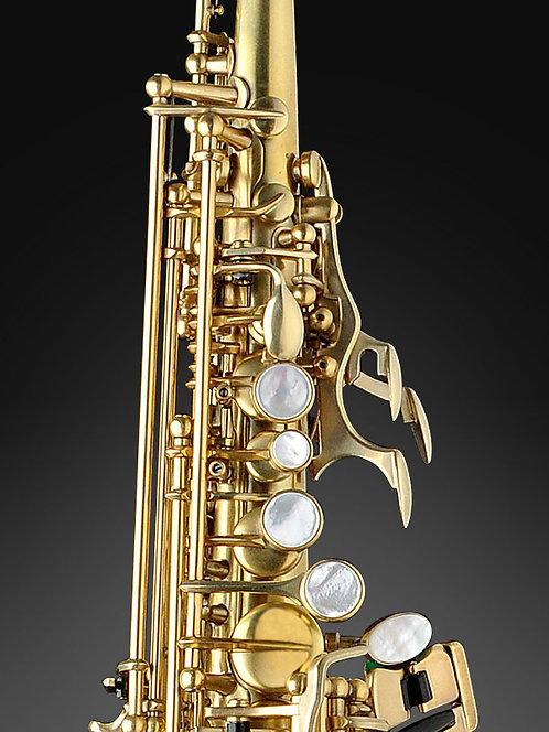 Rampone&Cazzani-Curved Bb Soprano Saxophone-OT finish