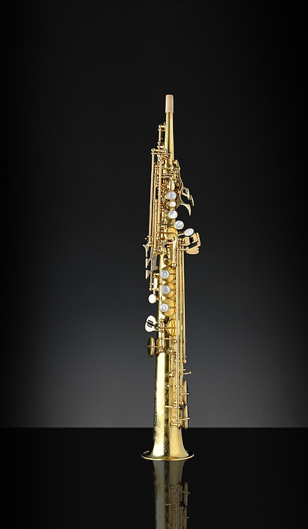 Rampone&Cazzani-Straight Bb Soprano Saxophone- OT finish