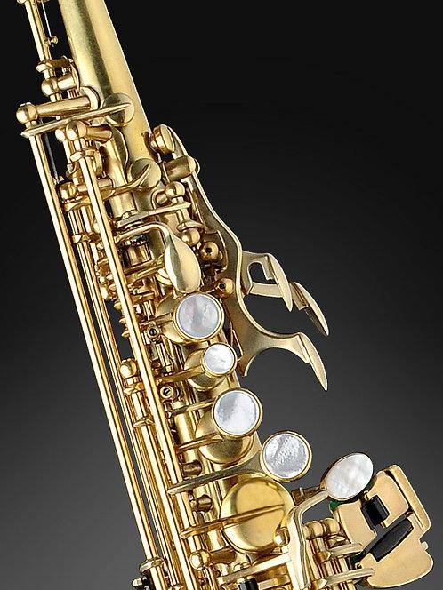 Rampone&Cazzani-Half-curved Bb Soprano Saxophone-OT finish